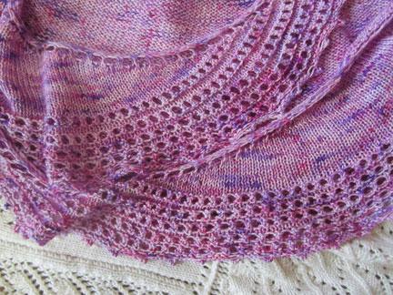 Shawl-lace