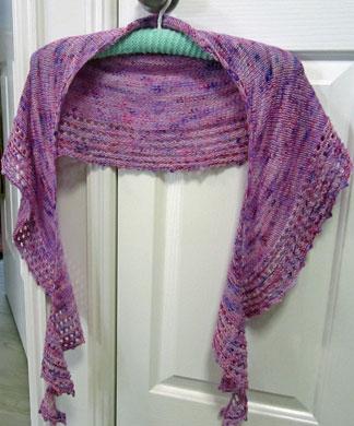 Spindrift-shawl